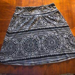 Akini Gray  knit skirt XS